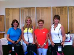 Claire Beardmore, Lizzie Browne, LC and Ann Barnes