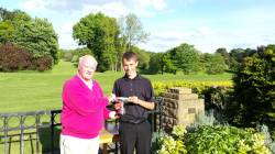 Reece Wyatt junior div2 champion