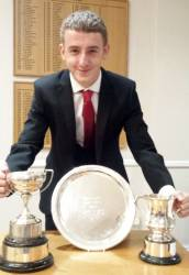 Joe Macilwraith's clean sweep of Warwickshire Trophies