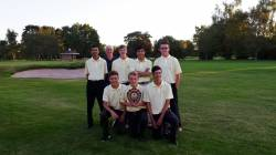 Winners of the Central Warwickshire Junior League